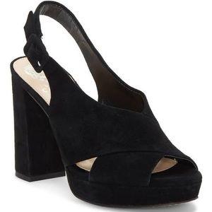 Vince Camuto Javasan Platform Sandal Size 9